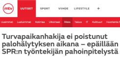 Turvapaikanhakija ei poistunut MTV Uutiet 14.12 2015