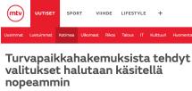 Turvapaikkahakemuksista tehdyt valitukset MTV Uutiset 4.12 2015