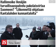 Hallinnoiko Venäjän turvallisuuspalvelu Ilta-Sanomat 23.1 2016
