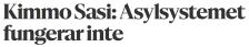 Asylsystemet fungerar inte Hbl 21.2 2016