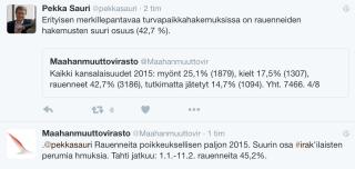 Avskrivna asylansökningar Finland 1