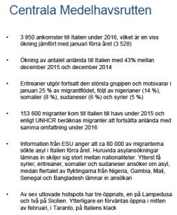 MIG Centrala Medelhavsrutten v 04-2016