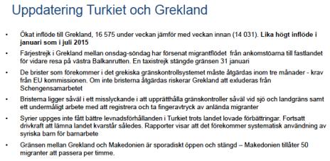 MIG Uppdatering Turkiet och Grekland v 04-2016