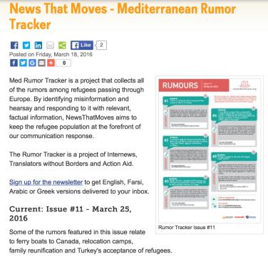 Mediterranean Rumor Tracker