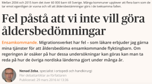 Nenad Zeba Dagens samhälle 29.3 2016