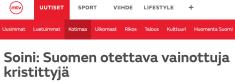 Soini Suomen otettava MTV Uutiset 28.3 2016
