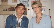 Thanh och Elisabeth Svantesson sept 2007