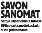 Satoja irtisanomisia Savon sanomat 1.42016