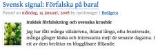 Svensk signal