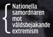Nat samordn m våldsbejakande extremism logo