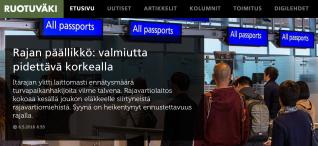 Rajan päällikkö valmiutta 6.5 2016
