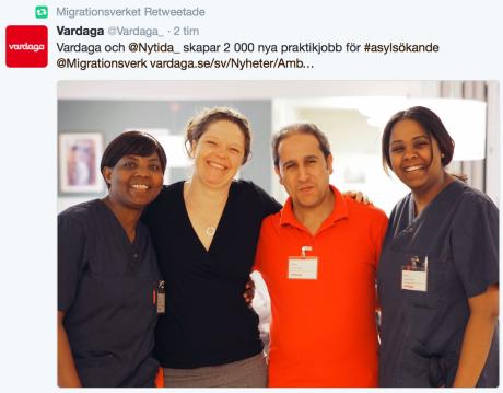 Vardaga Twitter 7.6 2016