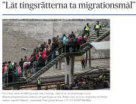 Låt tingsrätterna ta migrationsmål
