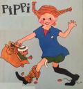 Pippi Långstrump kappsäck gullpengar